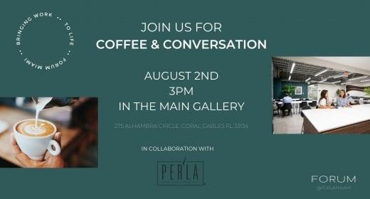 Coffee & Conversation with Per'La Specialty Roasters