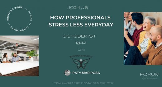 How Professionals Stress Less Every Day With Paty Mariposa